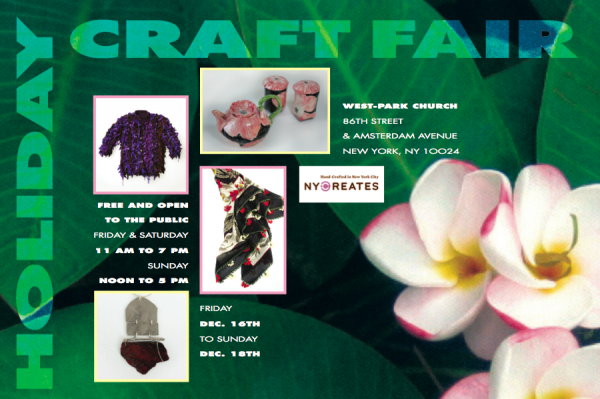 NY Creates Holiday Crafts Fair